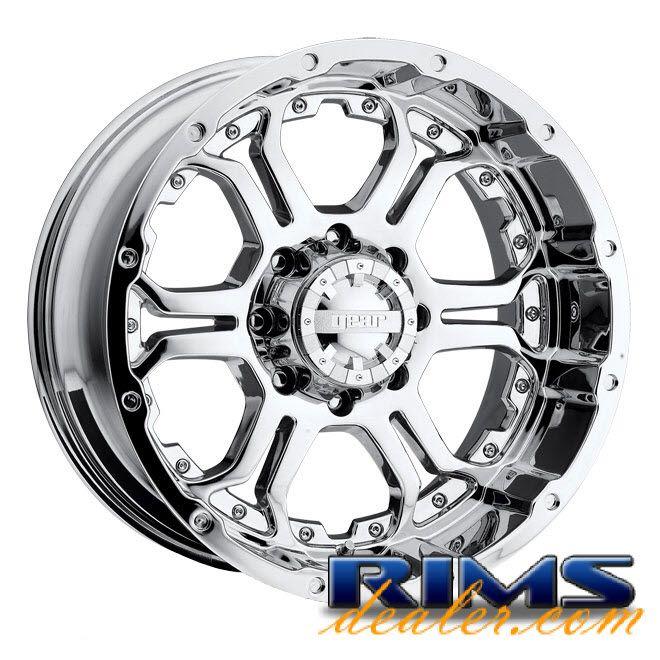 20 8 Lug Chrome Wheels 17 Inch Rims Gear Alloy 715c Recoil 8 Lug Chrome Wheels For Your Chrome Truck Wheels Rims And Tires Rims For Sale