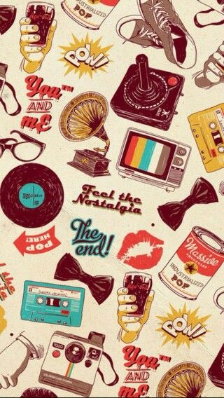 Retro Vintage Smartphone Wallpaper Retro Wallpaper Iphone Retro