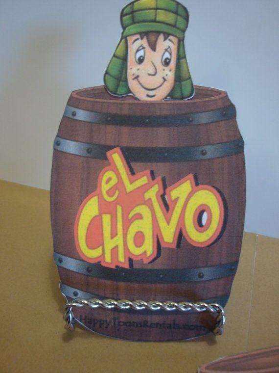 El Chavo Del Ocho Fiesta Invitaciones O Tarjetas De Por