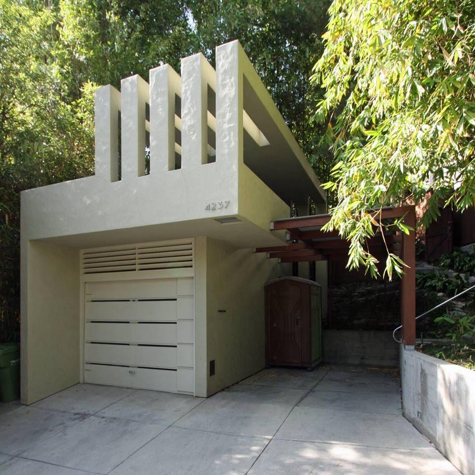 Elliot House Rudolph M Schindler 1930 In The Los Feliz