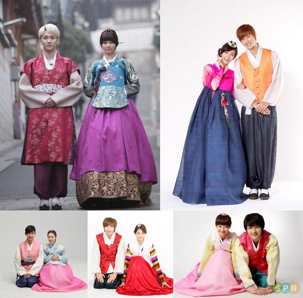 Gambar Pakaian Adat Korea