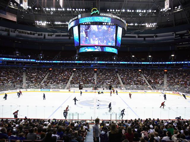 Vancouver Canucks, Rogers Arena