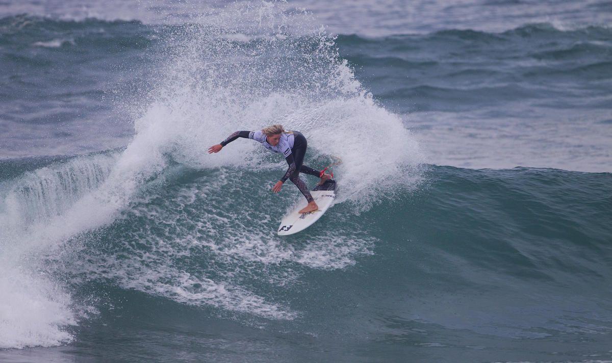 Laura Enever (USA) #ROXYpro. Roxy Pro France 2014 www.roxy.com  #ROXYsurf www.worldsurfleague.com kirstinscholtz @Roxy   By Roxy