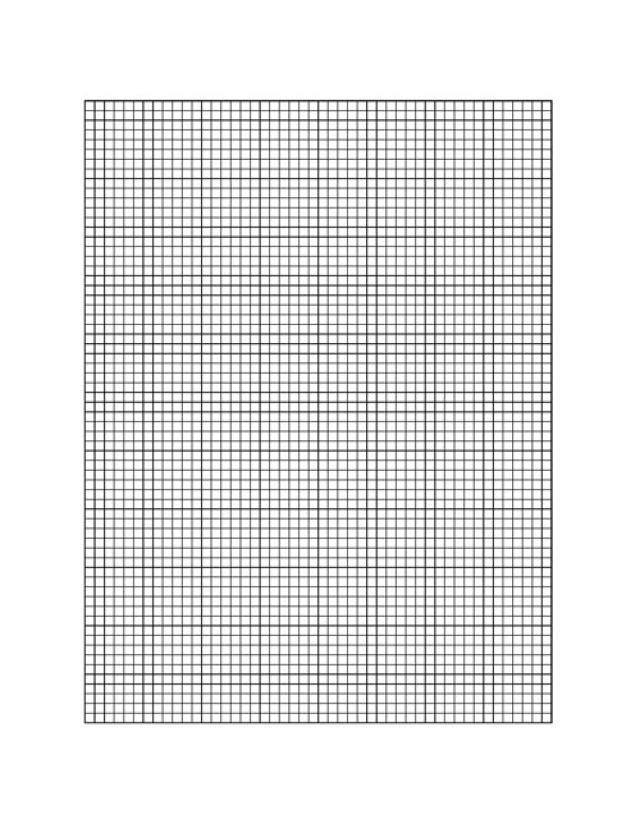 Need Graph Paper? You Can Print Out These Free Templates at Home - half inch graph paper template