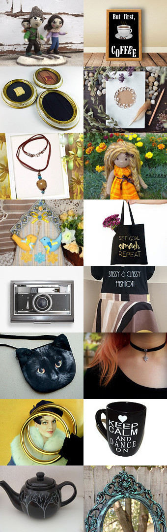 Things are not quite so simple always as black and white by TheVintageCinderella on Etsy--Pinned with TreasuryPin.com