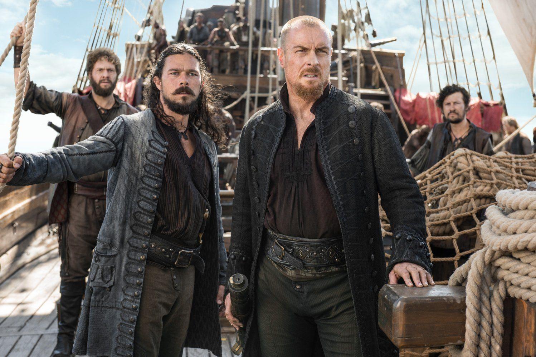 'Black Sails' Renewed For Season 4 Before Season 3 Goes On Air |Starz Black Sails Cast