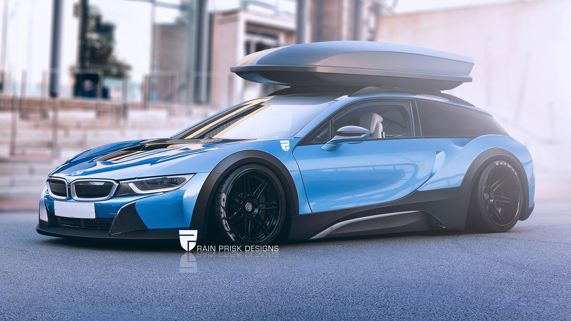 BMW i8 Shooting Brake by rainpriskviantart on DeviantArt