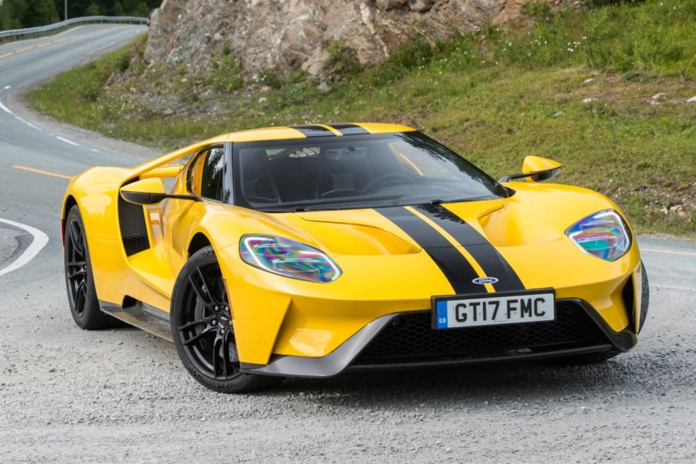 Ford Gt Norway Road Trip Front Quarter Action
