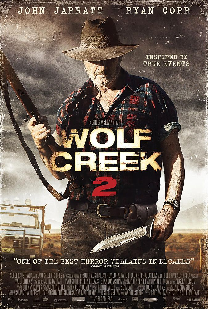 Poster for the upcoming US release of Wolf Creek 2.