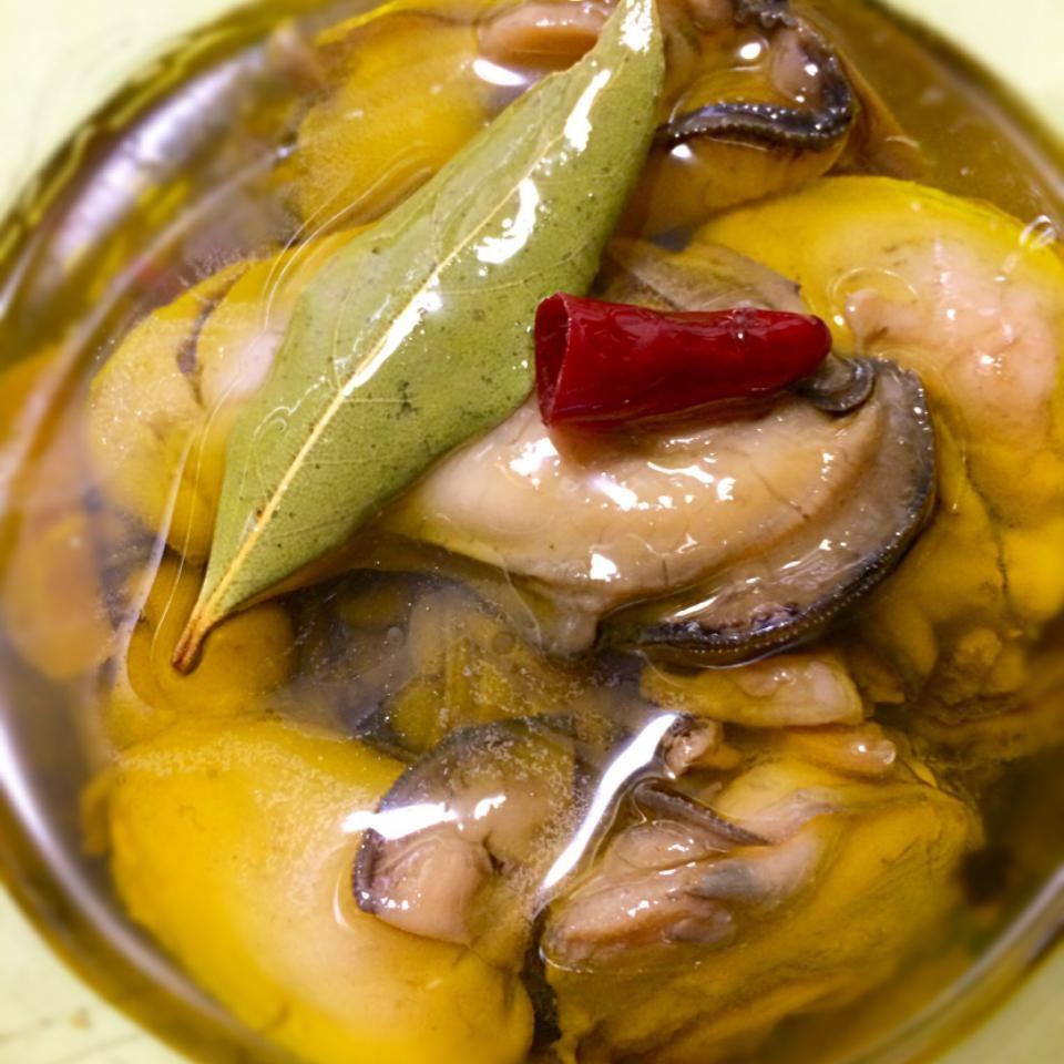 牡蠣 の オイル 漬け 牡蠣のオイル漬け 、酒飲みにとって常備ツマミは家の宝