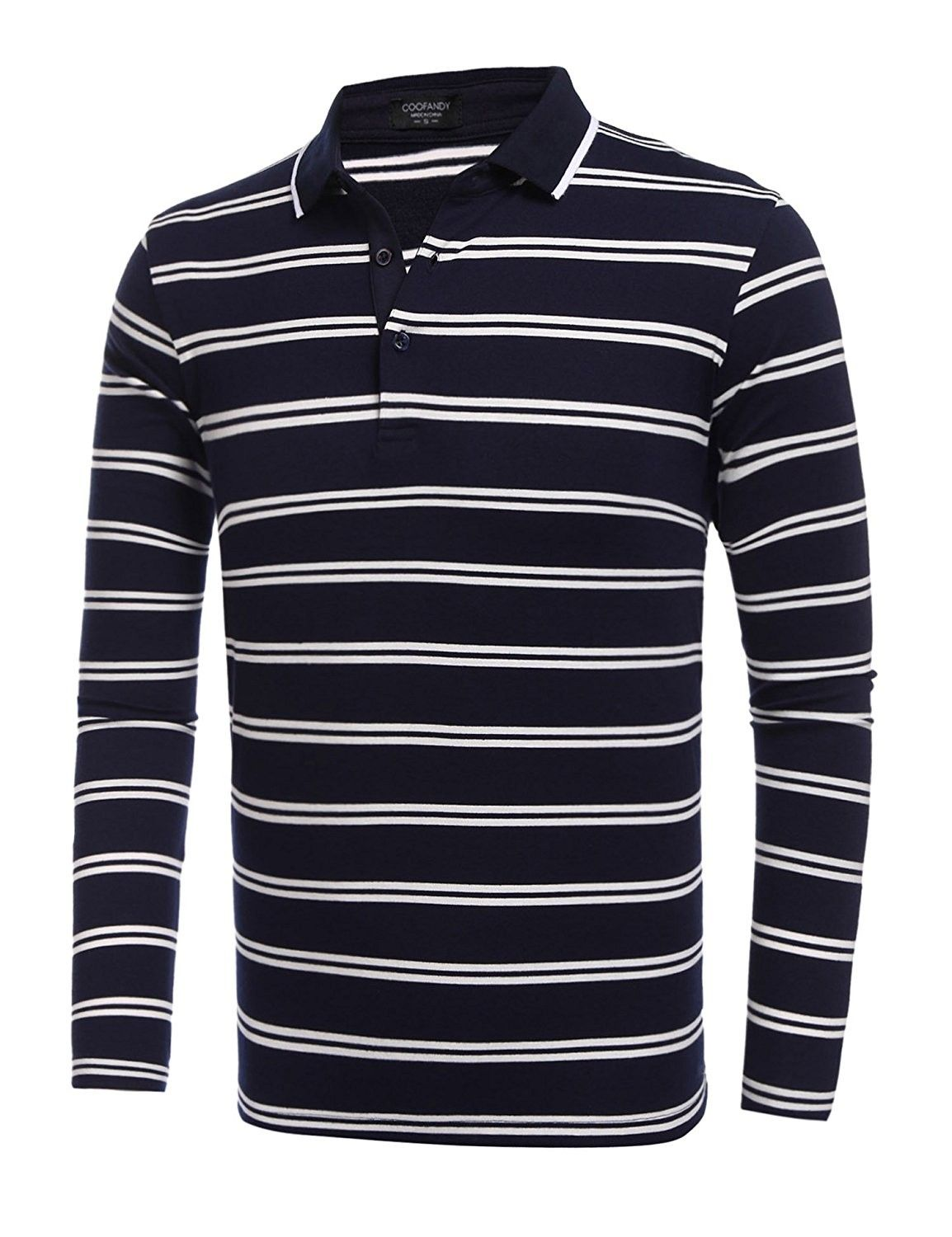 20b8777ae80d7 Blue And White Striped Long Sleeve T Shirt Mens - raveitsafe