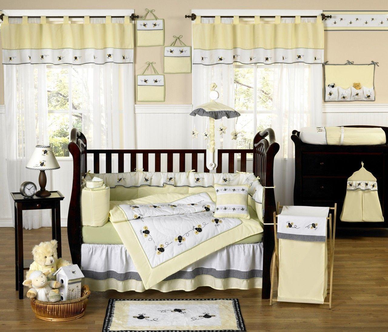 Elegant Bumble Bee Baby Room