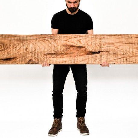 Totem Contemporain Brut En Bois D Orme Massif Uob N 37 Coffee Table Decor Furniture