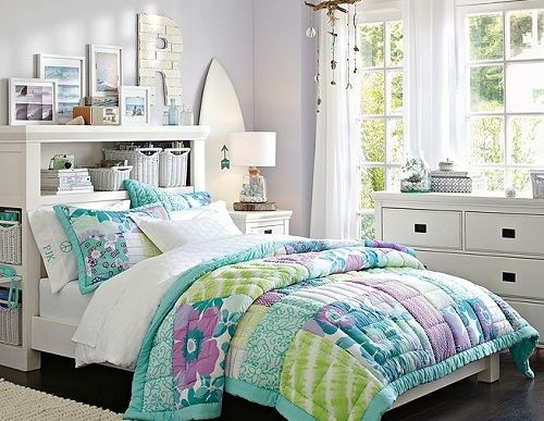 Clean Teenage Girl Bedroom Ideas With Good Storage Design By