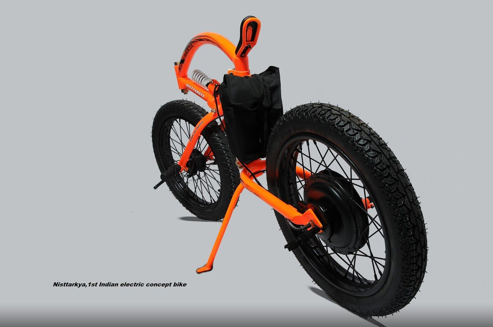 Nisttarkya Is India S First Electric Concept Bike Developed By