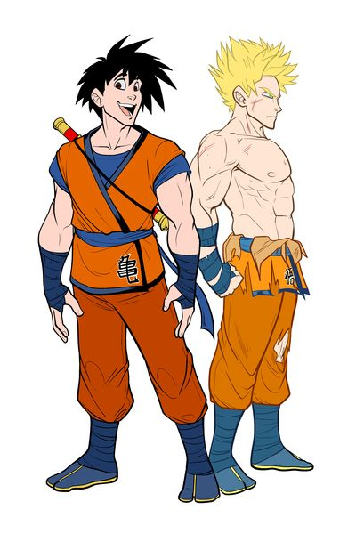 if dragon ball was designed in disney style amigos do fa rum