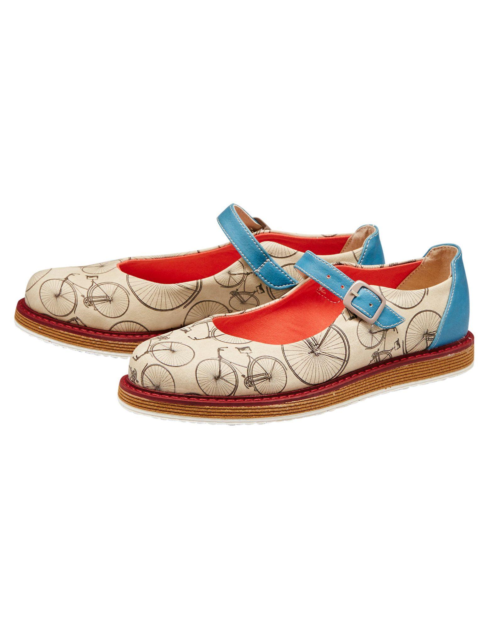 Dogo-Shoes Damen Spangenschuhe Kitty, Bunt