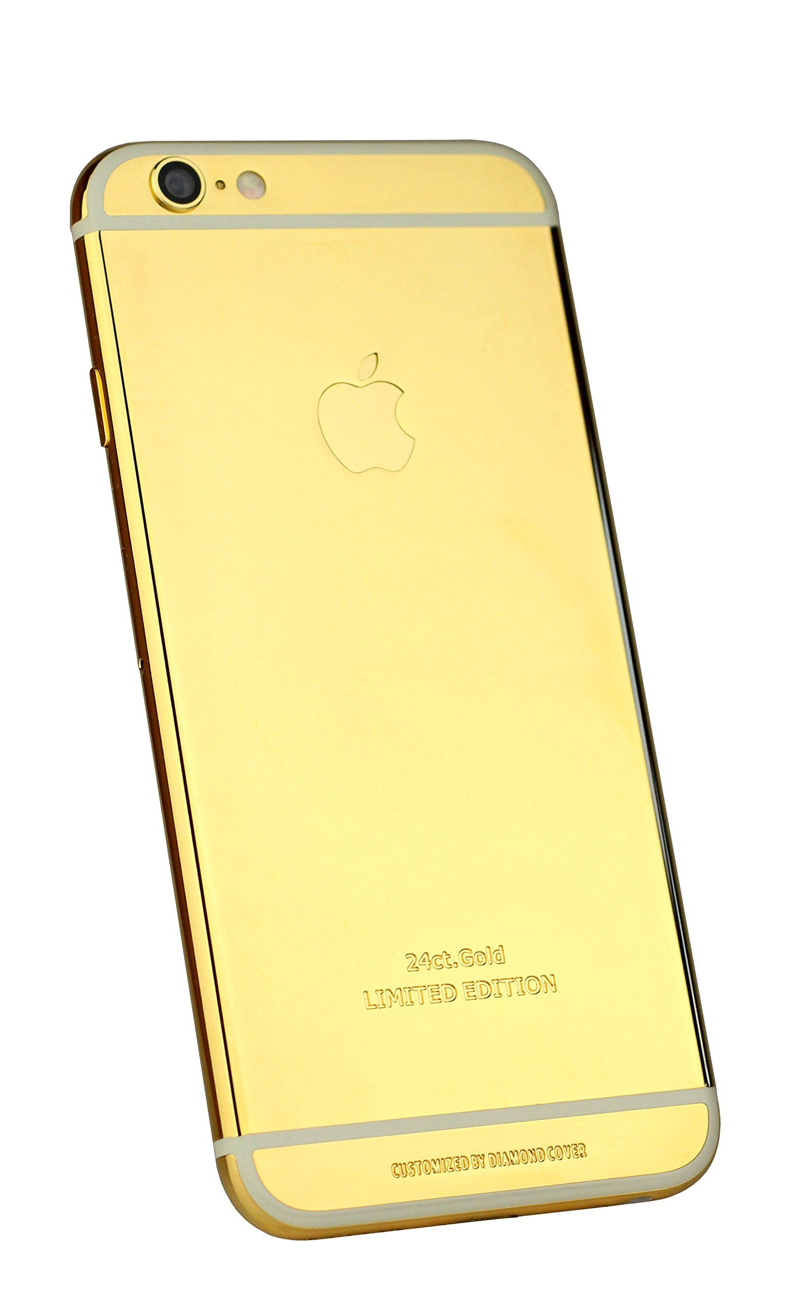 Diamond Cover High Class 24 ct Gold veredelt Apple iPhone 6 Smartphone 64GB