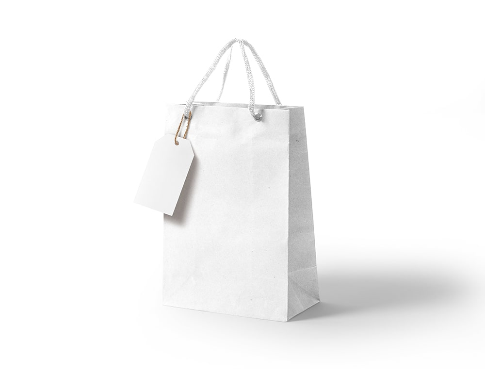 Download Kraft Paper Gift Bag Mockup With Tag Mockup Free Package Mockups Paper Gift Bags Bag Mockup Paper Gifts