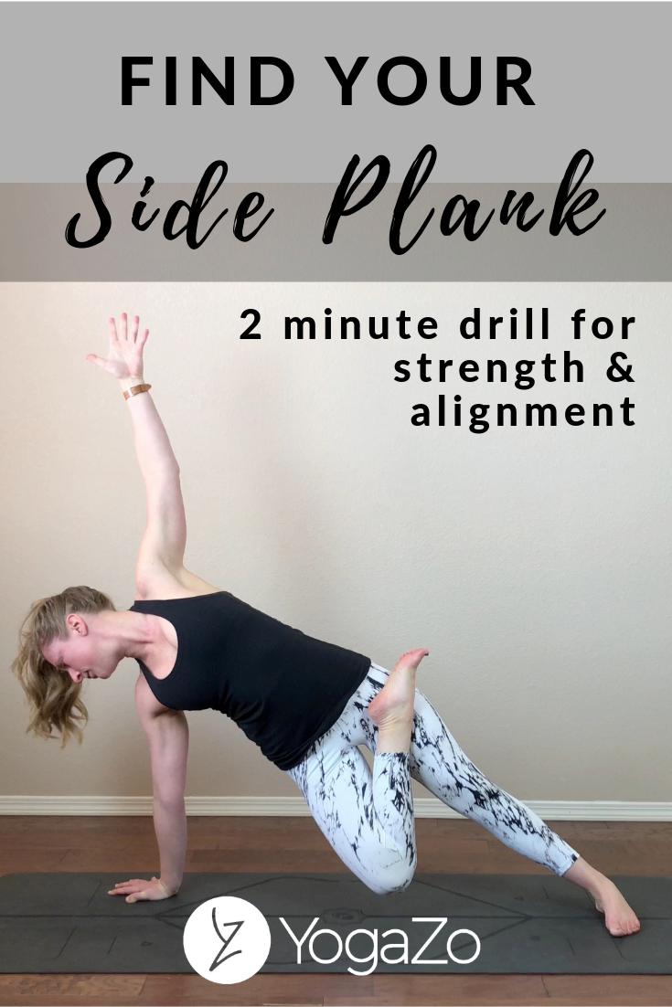 Find your Side Plank with this challenging drill focuses on building