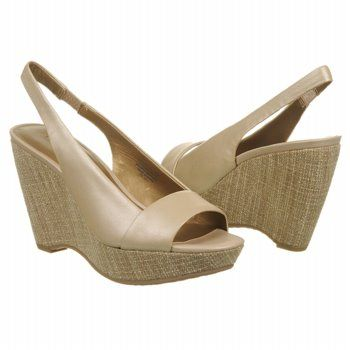 Anne Klein Fortuna Shoes (Lt Gold Leather) - Women's Shoes - 7.0 M