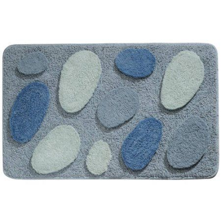 InterDesign Pebblz Bath Rug X Walmartcom Home Decor - Walmart bath mats for bathroom decorating ideas