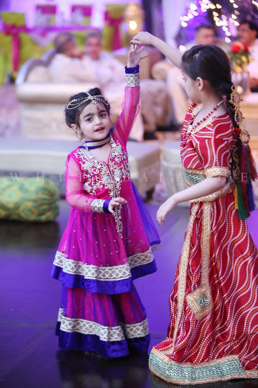 Pakistani Wedding Kids Fashion Baby Dress Design Kids