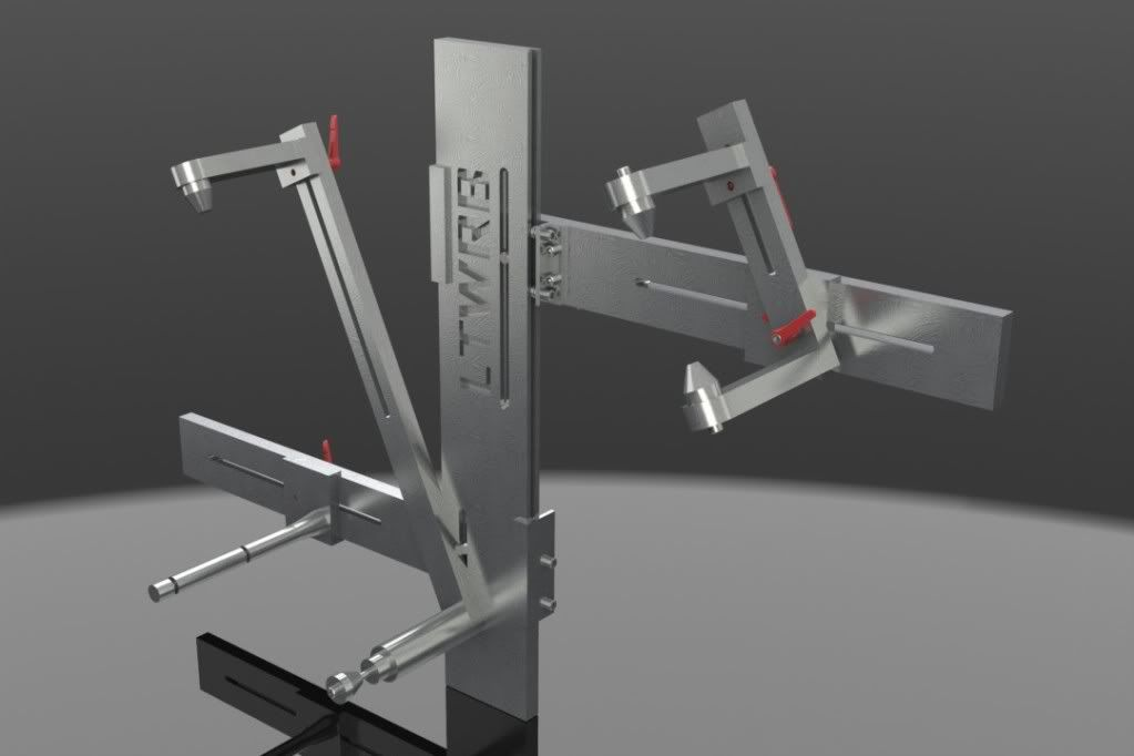 my homemade frame jig plans