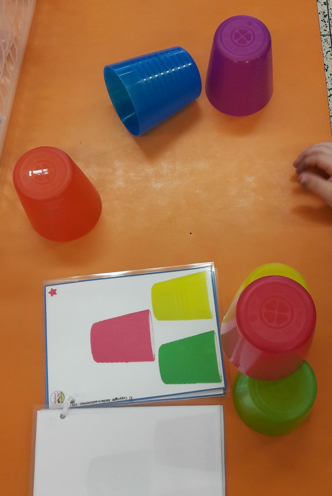 Cool Game For Visual Perception For Little Fingers Great