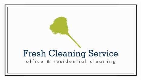Simple Green Feather Duster Logo Cleaning Service Housekeeper - housekeepers resume