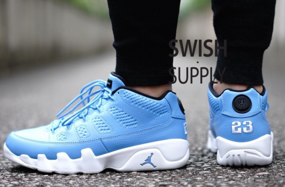 quality design 1f752 0b389 Here s How The Air Jordan 9 Low Pantone Look On-Feet