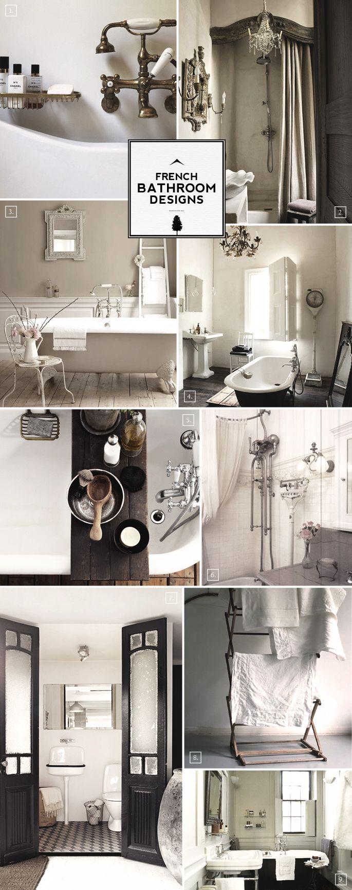 french style bathroom decor and designs | badezimmer dekor, stil