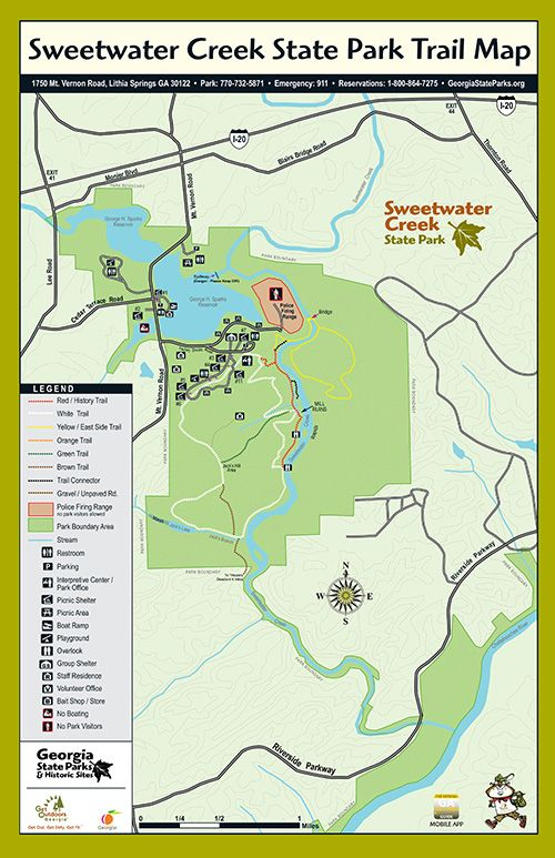 Trails at Sweetwater Creek State Park | Georgia State Parks