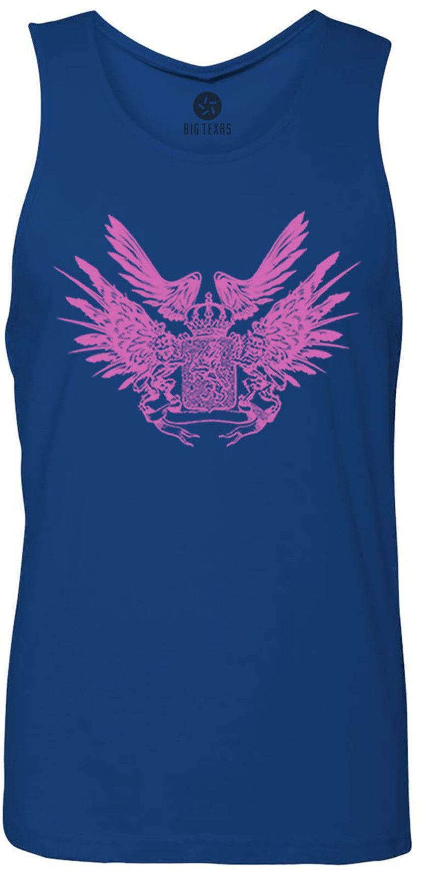 Crest Wings Tank-Top T-Shirt