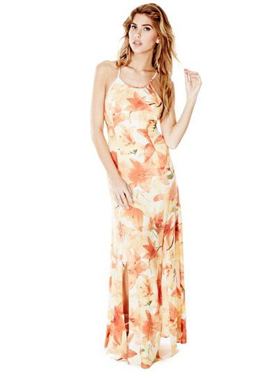 44c6cf6e781 Ariana Strappy Maxi Dress at Guess | Guess | Strappy maxi dress ...