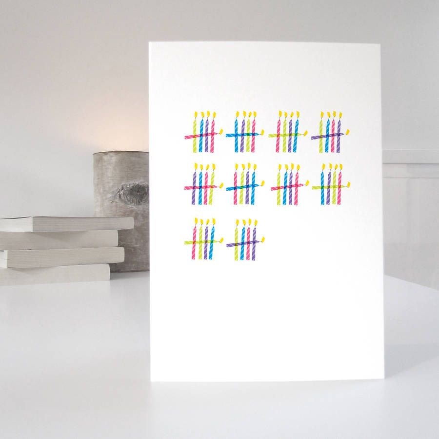 Who S Counting Special Age Birthday Card Special Birthday Cards