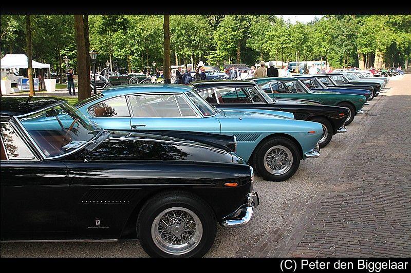 Gentlemen's Ferraris, 250 GTEs together in the Netherlands 2014