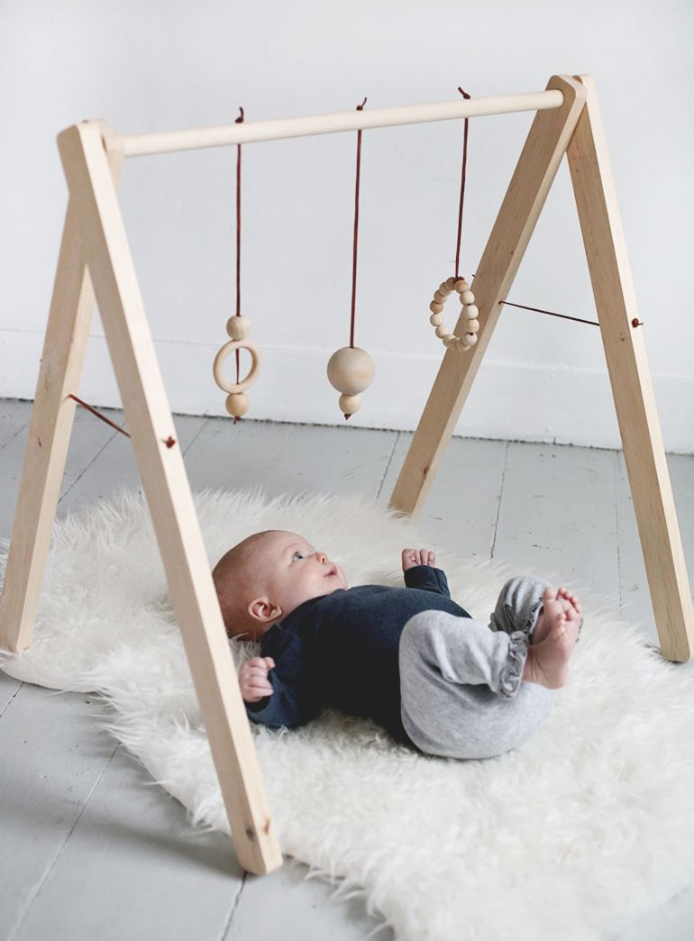 Beautiful Wooden Activity Gym