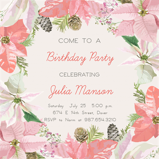 Happily Ever After Birthday Invitation Template Free