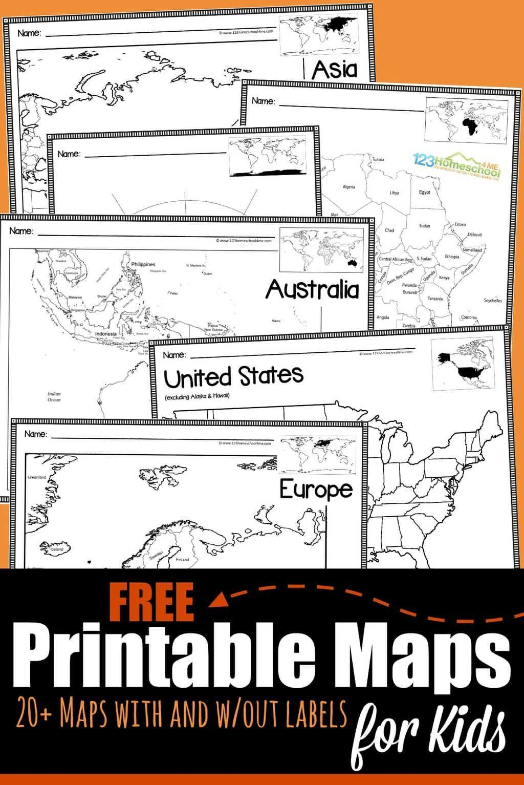United States Coloring Maps Free Printable Maps For Kids