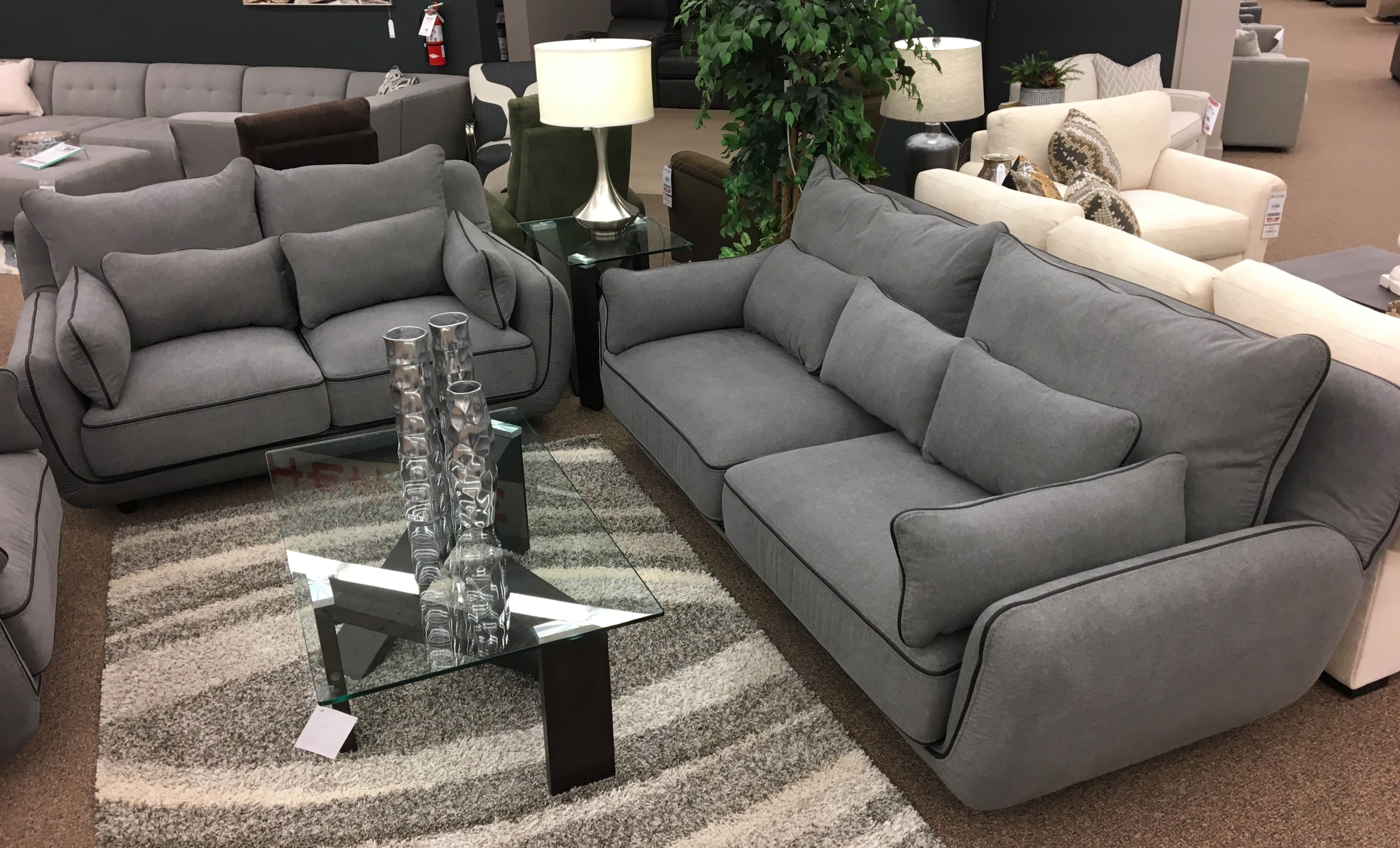 Cozy with a modern twist cuddle up on our brand new Warwick sofa