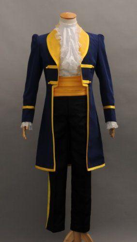 Beauty and The Beast Prince Adam Halloween Fancy Dress Cosplay Costume