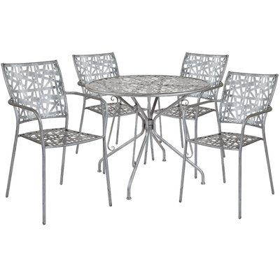 Wrought Studio Windbrook 5 Piece Dining Set Table Size 28 75 H X
