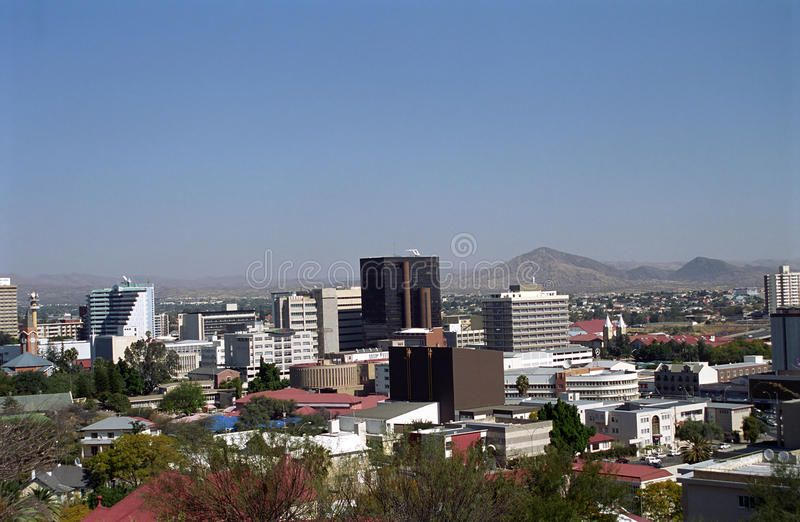 View Of The City Windhoek Namibia Windhoek The Capital City Of