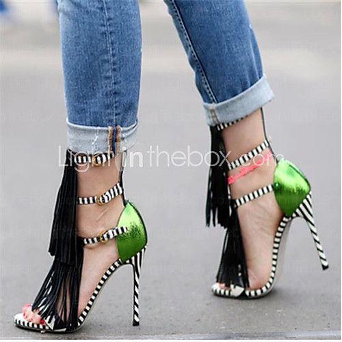2d4cc0542cd495 Women s Shoes Stiletto Heel Heels Sandals Party   Evening Dress Black