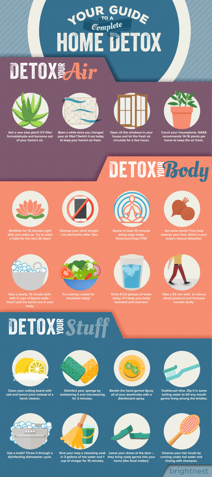 BrightNest   Your Guide to a Complete Home Detox (Printable!)  #DietMotivationWomen