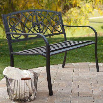 bought today d¼dµd±dµdnŒ pinterest metal outdoor bench black