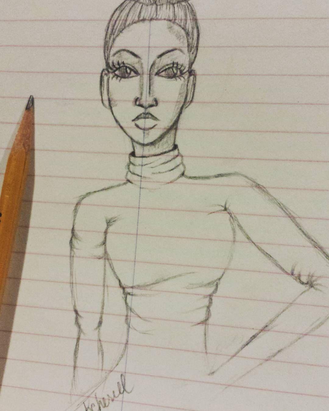 """by kcherell designs #sketching #illustration #sketch #fashion #fashionsketches #fashionillustrator #fasionillustration #illustration #illustrator #art #style"""