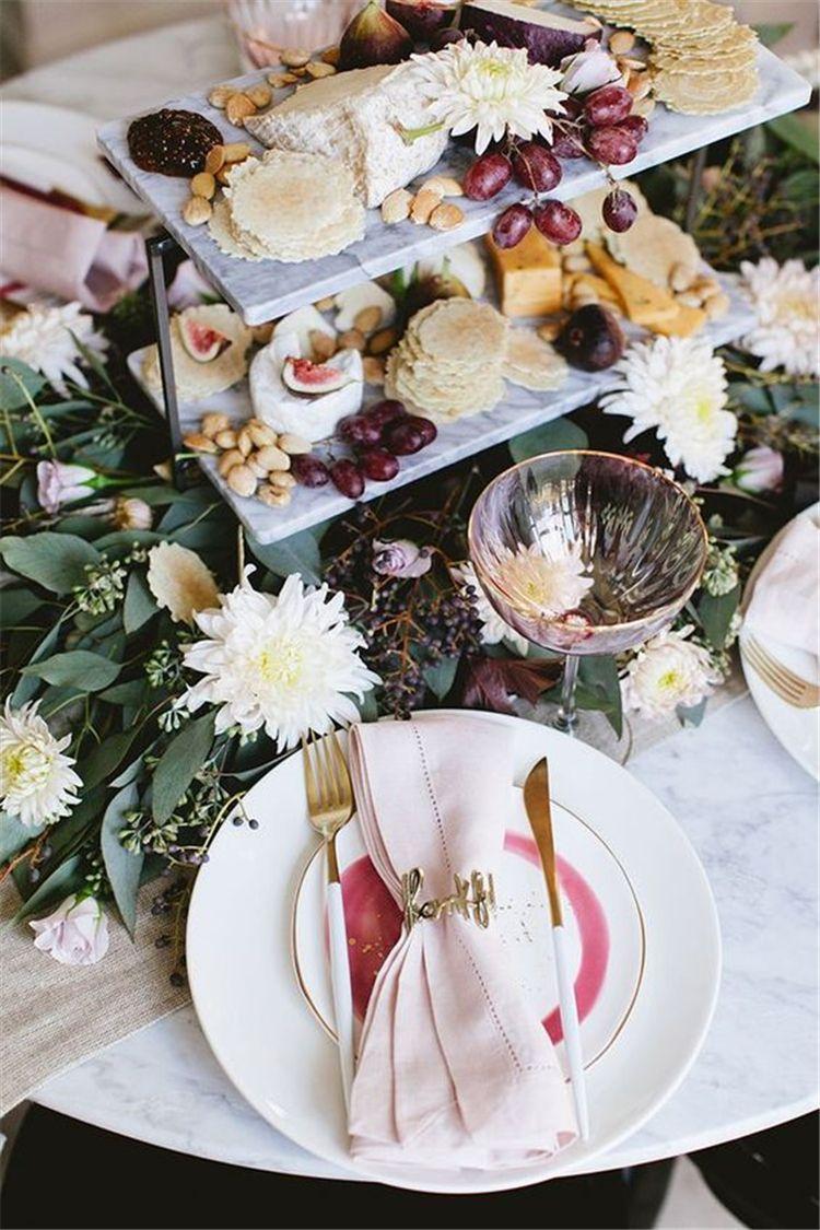 pink table seating sets ideas dining room decor boda ideas fiesta rh pinterest es
