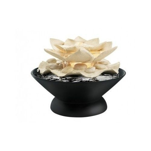 Indoor Water Fountain Home Decor Pond Small Tabletop Wall Relaxation